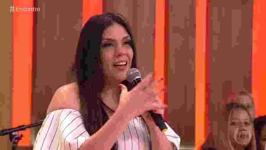 """Simony no """"Encontro"""" - Reprodução/Globo"""