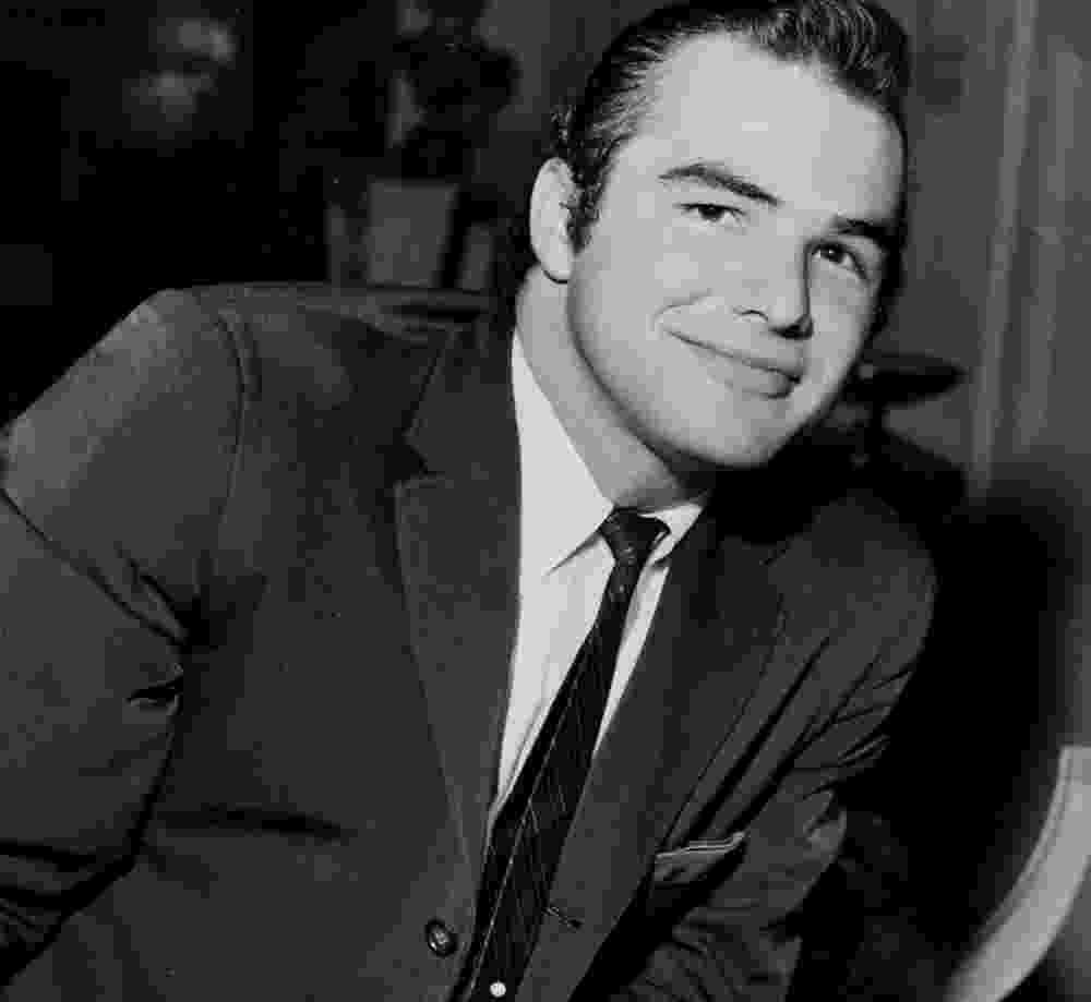 O ator Burt Reynolds em 1959 - Reprodução
