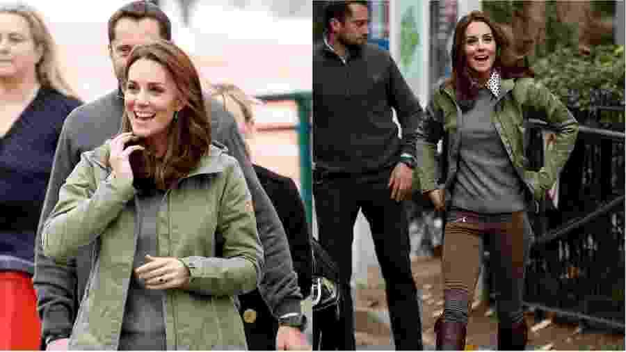 Kate Middletom em visita à escola de Paddington - Getty Images
