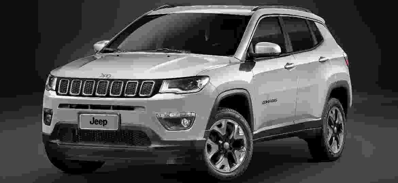 Compass foi o SUV mais vendido do mercado brasileiro em 2018 - Divulgação