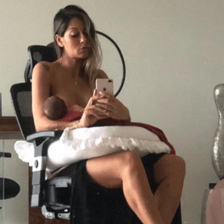 Ex-BBB Mayra Cardi com a filha - Reprodução/Instagram