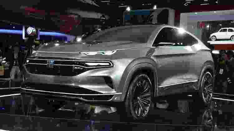 """""""Fastback pode originar outros carros, não só um SUV"""", diz designer da Fiat - Divulgação - Divulgação"""