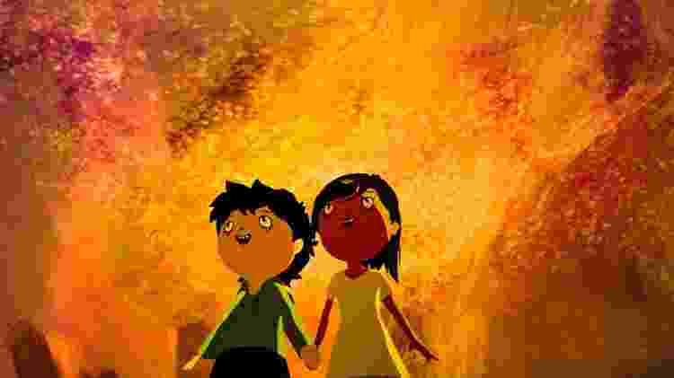 """Tito e Sarah, os heróis de """"Tito e os Pássaros"""" - Divulgação - Divulgação"""