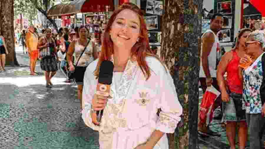 """Ana Clara vai às ruas em reportagem para o """"BBB 19"""" - Reprodução/Globo"""