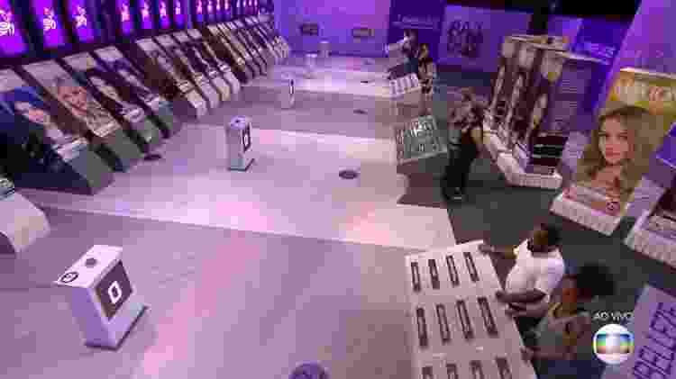 Prova do líder - Reprodução/TvGlobo - Reprodução/TvGlobo