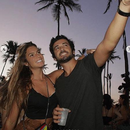 Branca Feres e o noivo, Gustavo Frota - Reprodução/Instagram