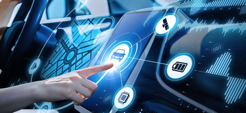 Carro do futuro (próximo) se conecta a outros carros e também a seus contatos e compromissos - Divulgação