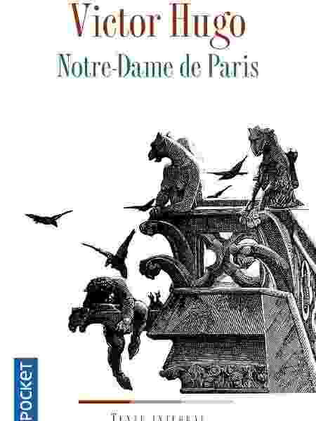"""Capa do livro """"Notre-Dame de Paris"""" que está entre os mais vendidos na França - Divulgação"""