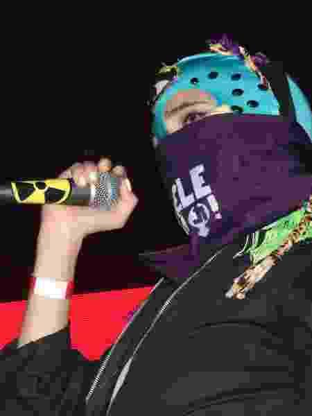21.abr.2019 - Show da Pussy Riot em São Paulo - Larissa Zaidan