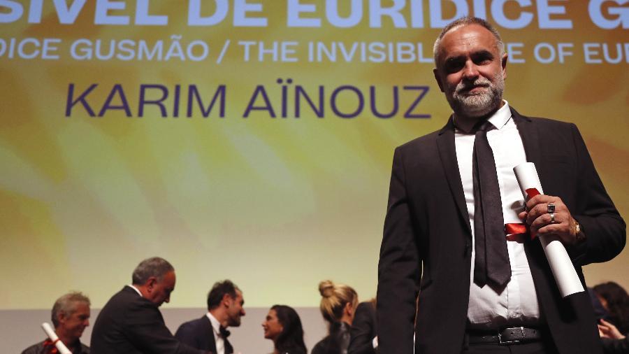 """Karim Ainouz após """"A Vida Invisível"""" ganhar o principal prêmio da mostra Un Certain Regard, em Cannes; novo filme do cineasta será exibido no festival, mas sem concorrer a prêmio - REUTERS/Eric Gaillard"""