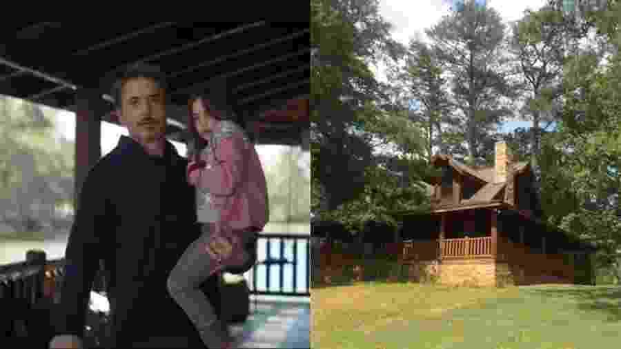 """Cabana de Tony Stark em """"Vingadores: Ultimato"""" está disponível para hospedagem - Reprodução e Montagem/UOL"""