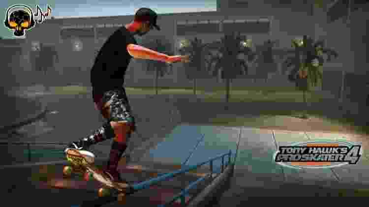Tony Hawk's Pro Skater 4 - Reprodução - Reprodução