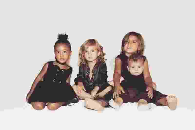 North West, Penelope Disick, Mason Disick e Reign Disick - Reprodução/Instagram/Kim Kardashian