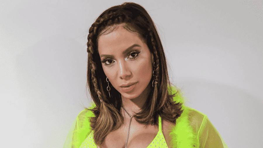Anitta separou look ousado em seu último programa da segunda temporada de Anitta Entrou no Grupo - Reprodução/Multishow