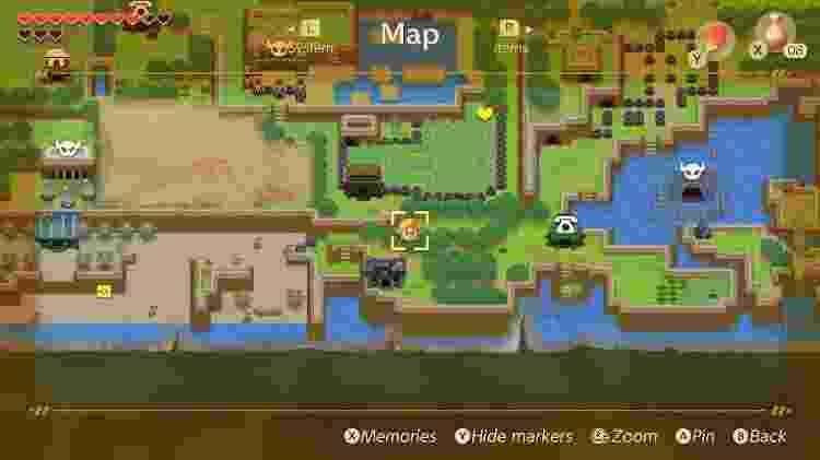 Zelda Link 6 - Reprodução - Reprodução