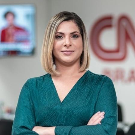 Daniela Lima, apresentadora da CNN Brasil - CNN / Divulgação