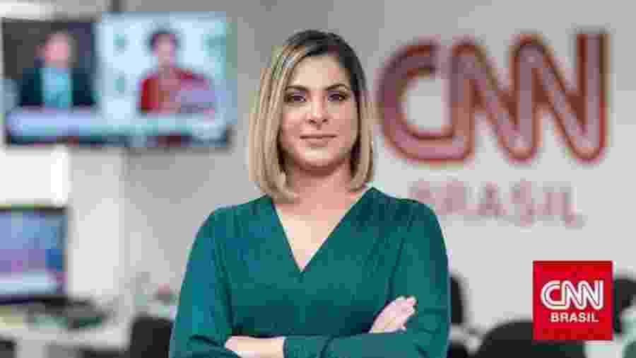 Daniela Lima, nova apresentadora da CNN Brasil - CNN / Divulgação