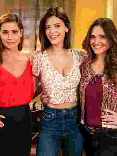 Trio de protagonistas de 'Salve-se quem puder' - Victor Pollak/Divulgação/ TV Globo - Victor Pollak/Divulgação/ TV Globo