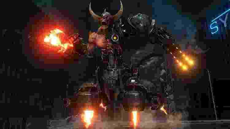 Talvez o primeiro grande trauma em Doom Eternal? - Divulgação