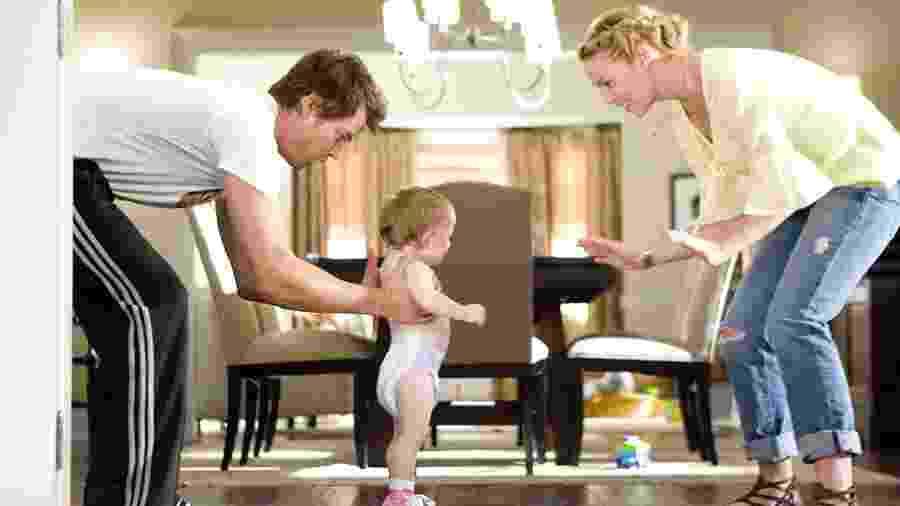 """Juntos pelo Acaso"""", comédia romântica com Katherine Heigl e Josh Duhamel, será exibido hoje na Sessão da Tarde - Peter Iovino/2010 Warner Bros. Entertainment Inc."""
