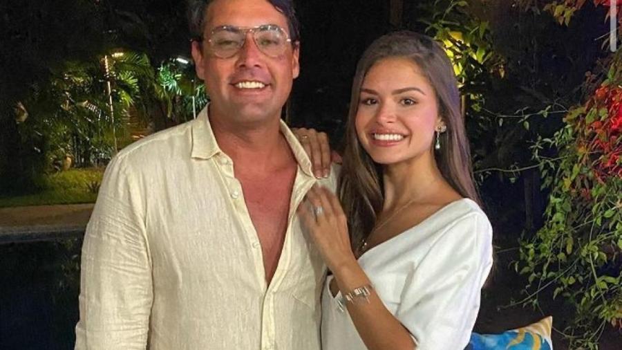 Bruno de Luca e namorada - Reprodução/Instagram