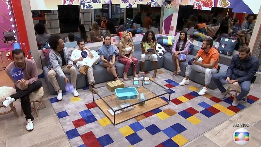 BBB 21: Brothers verão eliminação, prova do líder e formação de paredão no programa desta terça-feira - Reprodução/Globo