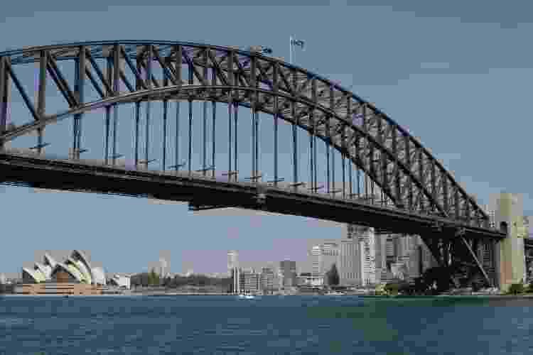 Harbour Bridge, em Sydney - Getty Images - Getty Images