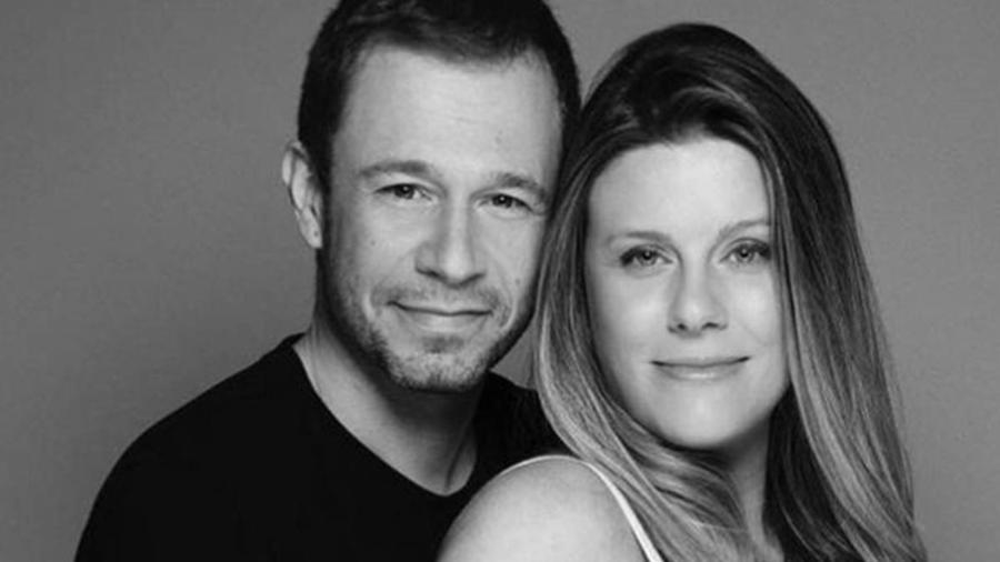 Tiago Leifer e a esposa, Daiana Garbin - Reprodução/Instagram