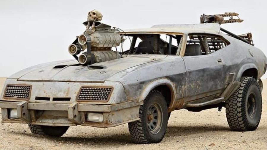 Ford Falcon XB 1973 do filme Mad Max - Divulgação