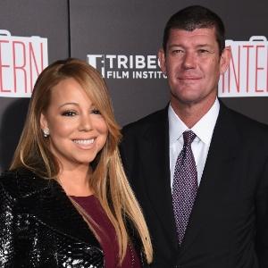 Mariah Carey com o noivo, James Packer - Getty Images