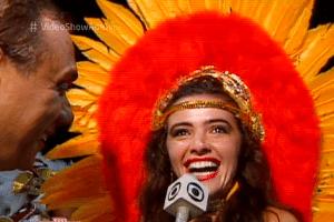 Globo relembra Marcelo Rezende como repórter de Carnaval