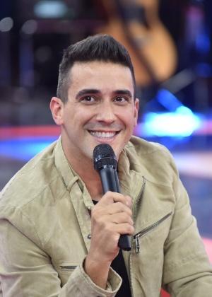 """André Marques revela na coletiva do """"The Voice Kids"""" ter mantido casamento em segredo - Mauricio Fidalgo /Globo"""
