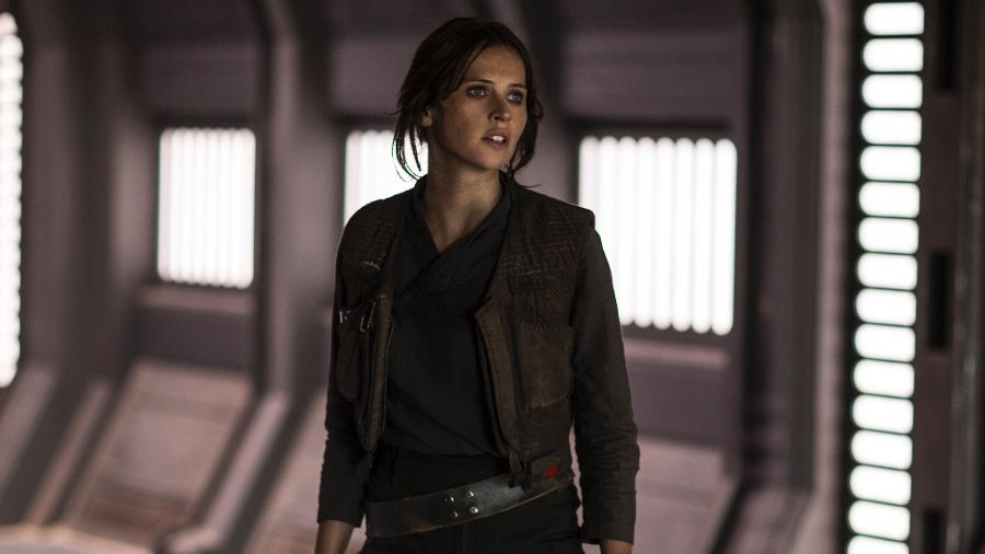 """Jyn Erso (Felicity Jones) é a heroína de """"Rogue One"""" - Divulgação/Lucasfilm"""