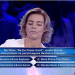 """Luciano Huck lançou um novo jogo de perguntas e respostas durante o """"Caldeirão do Huck"""", da Globo, na tarde deste sábado (6). - Reprodução/TV Globo"""