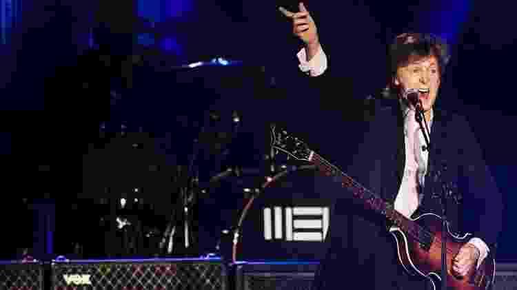 26.nov.2014 - Paul McCartney se apresenta no Allianz Parque, em São Paulo - Eduardo Knapp/Folhapress