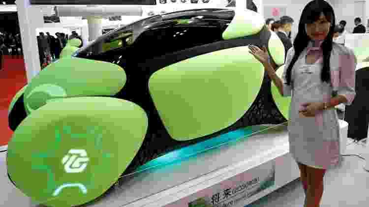 Flesby tem lataria coberta por uma borracha macia de última geração que pode absorver impactos de uma colisão - Kim Kyung Hoon/Reuters - Kim Kyung Hoon/Reuters