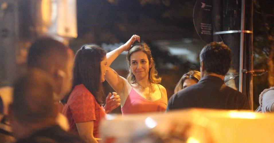 William Bonner é visto passeando com Natasha Dantas, apontada como sua namorada