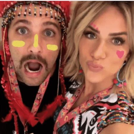 Bruno Gagliasso e Giovanna Ewbank - Reprodução/Instagram