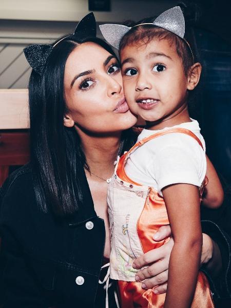 Kim Kardashian e North West  - Getty Images