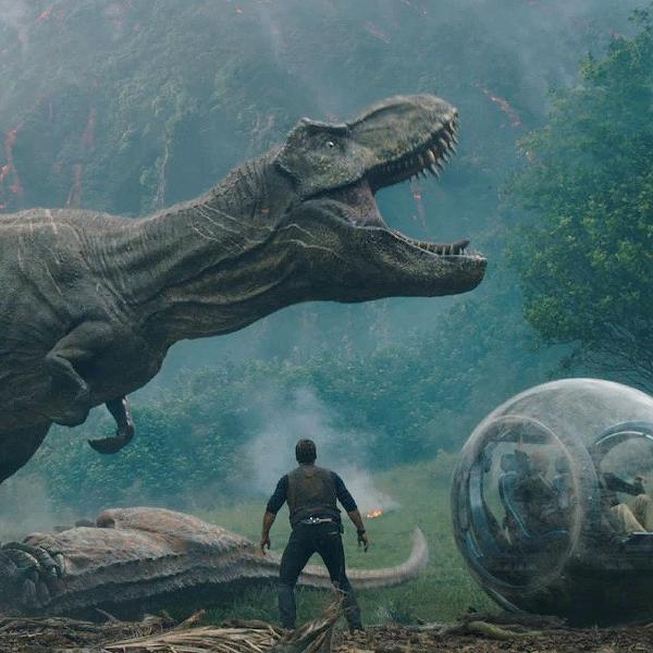 Cena de 'Jurassic World: Reino Ameaçado'