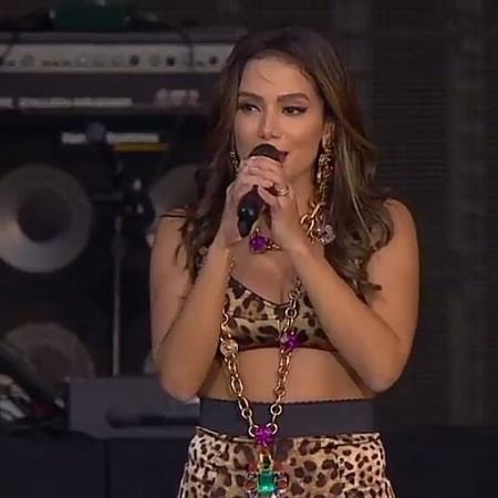 Anitta levantou a bandeira do funk no Palco Mundo do Rock In Rio, em Lisboa - Reprodução/Multishow