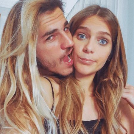 Isabella Santoni e Caio Vaz - Reprodução/Instagram/isabellasantoni