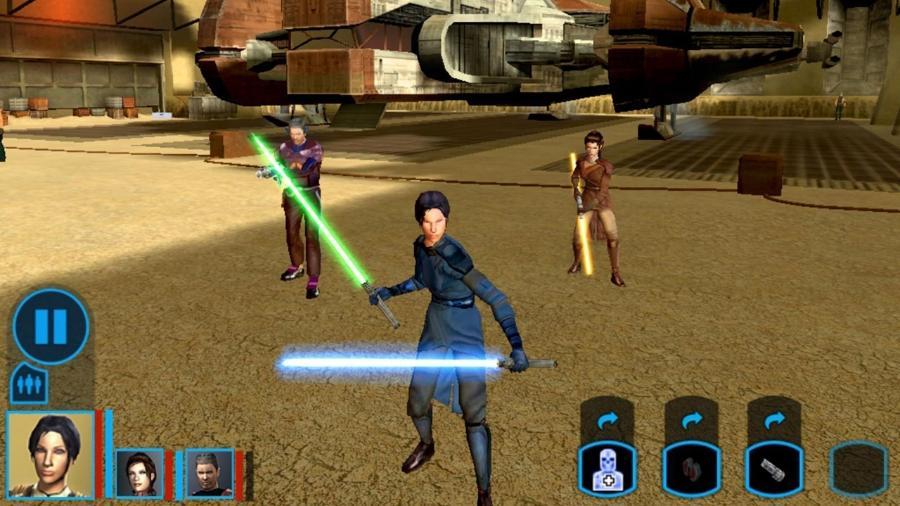 Star Wars Knights of The Old Republic - Reprodução