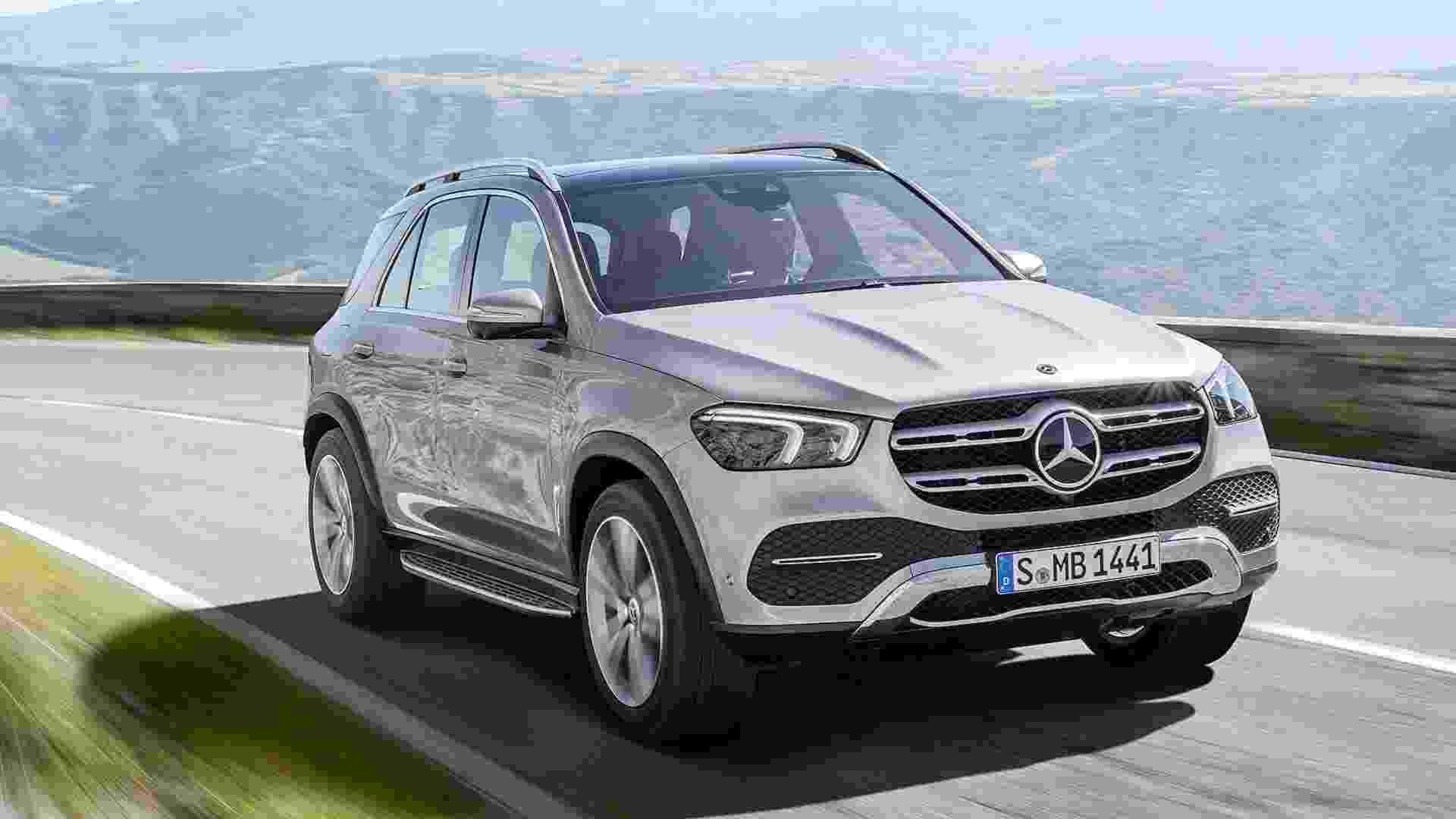 Mercedes-Benz GLE - Divulgação