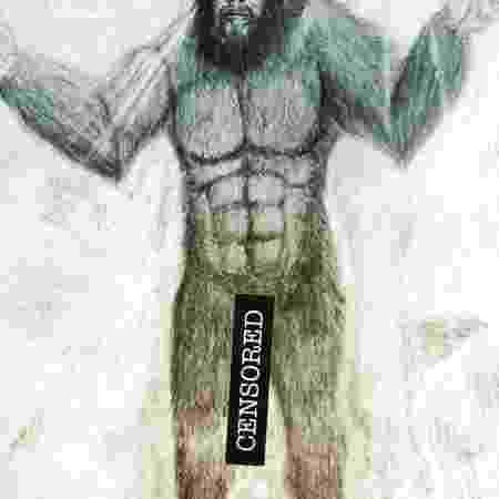 Arte da capa do livro de Denver Riggleman sobre o Pé Grande - Divulgação