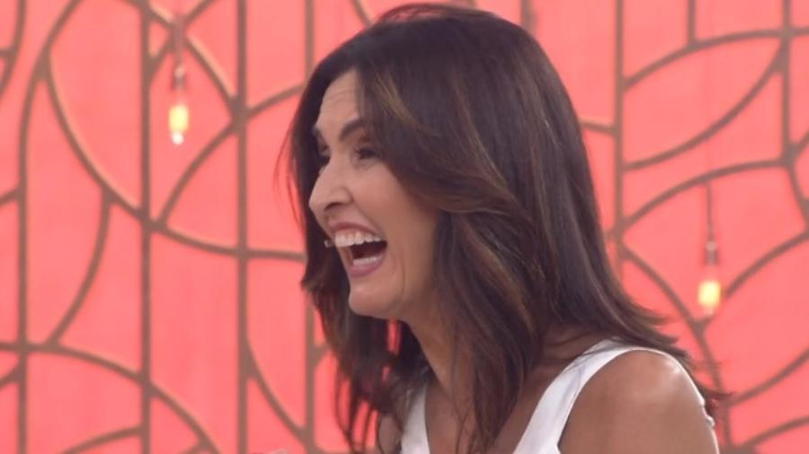 """Fátima fica animada com descoberta no """"Encontro"""" - Reprodução/Globo"""