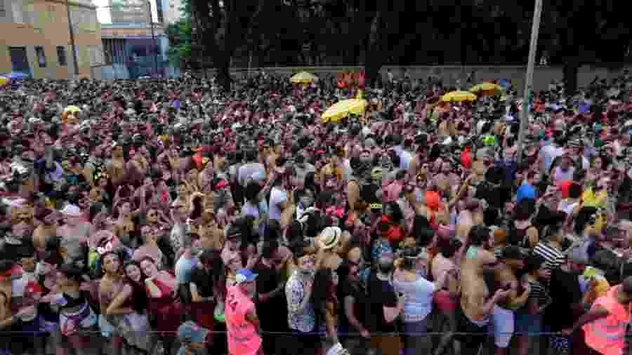 Acadêmicos do Baixo Augusta no Carnaval 2019 - Nelson Antoine/UOL
