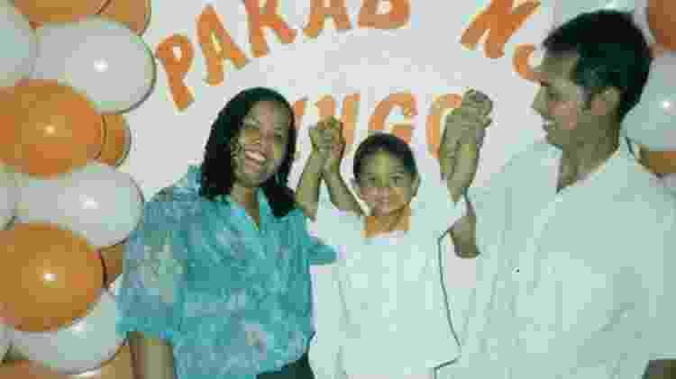 Festa de Hugo Carvalho de 3 anos - Arquivo Pessoal