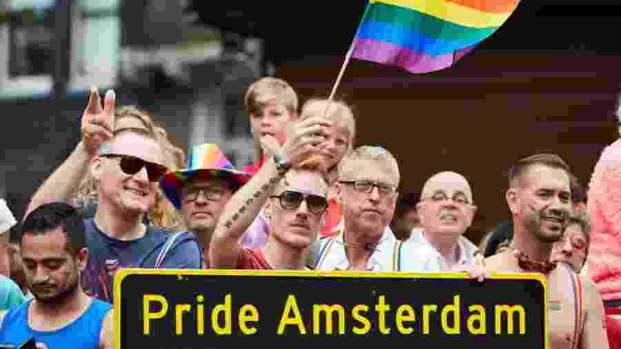 Manifestação faz parte da Parada LGBT, que acontece neste sábado (3) - Pierre Crom/Getty Images