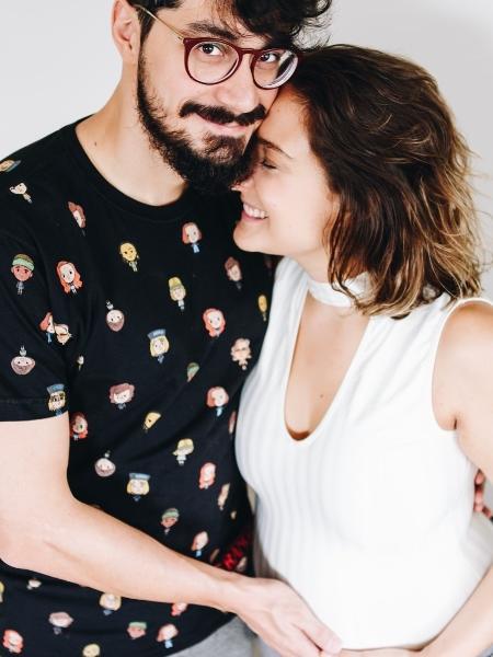 Dalila de Nóbrega com o namorado, Rafael Polon - Tatiana Merlin/Divulgação